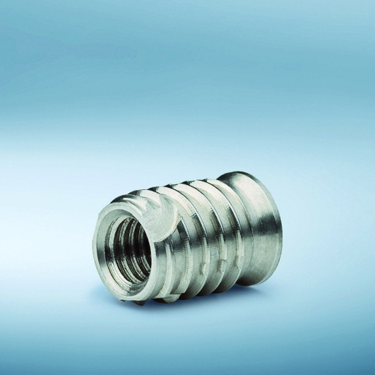TRISERT-3 Steel thread inserts for screwing into light alloys and plastics